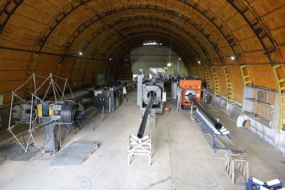 Цех по виробництву поліетиленових труб ПЕ-100 та ПЕ-80 Ельпласт