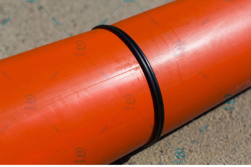 Труби Пластпротект з'єднання встик Ельпласт