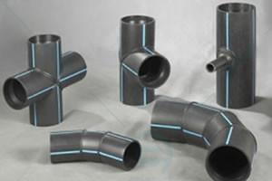Сегментні поліетиленові з'єднувальні деталі встик