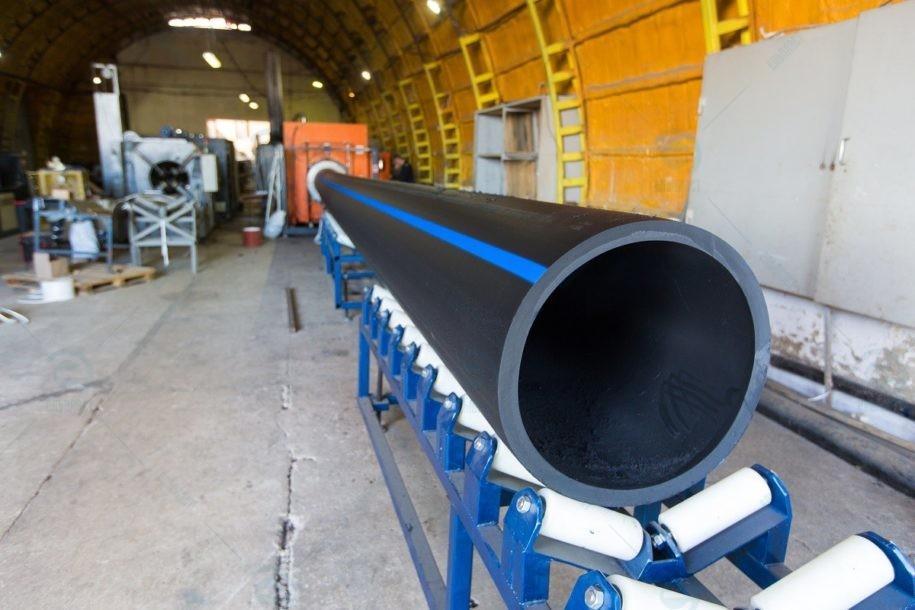 Виробництво поліетиленові труби PE100 та PE80 Ельпласт